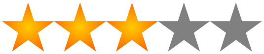 3 stars yellow png