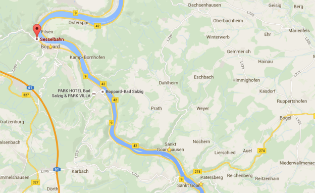 Middle Rhine Valley Scenic Route