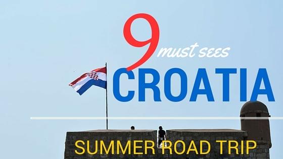 Croatia summer roadtrip