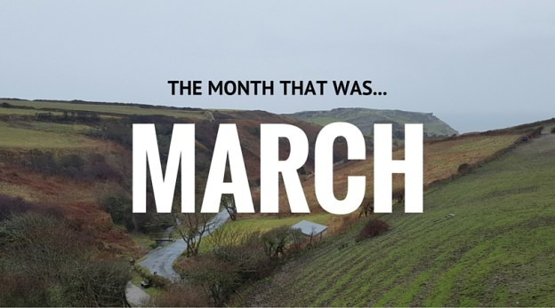 Month in review: March 2016