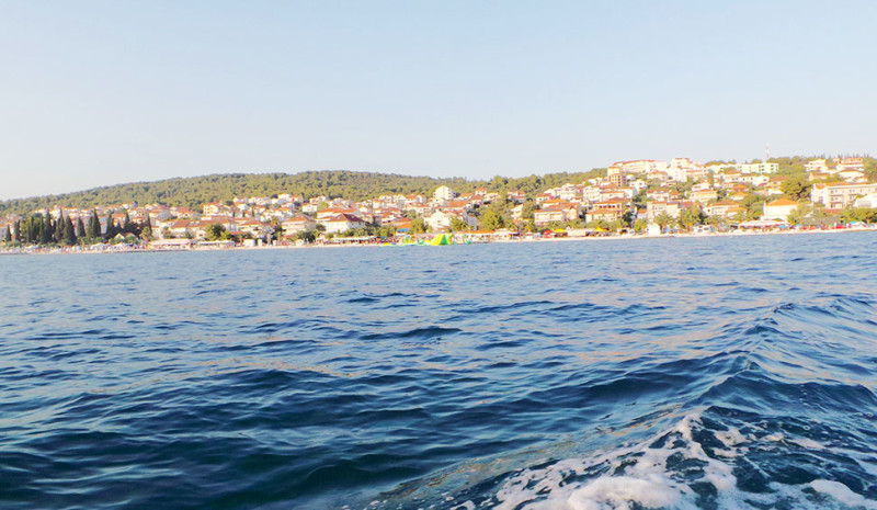 Trogir from the water