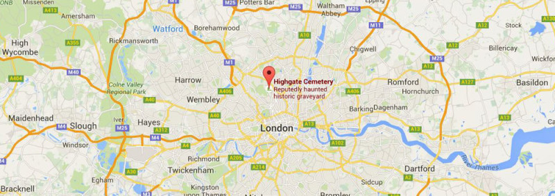 Quirky London Highgate Cemetery Roaming Required