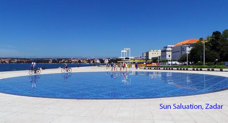 Sun Salutation in Zadar, Croatia