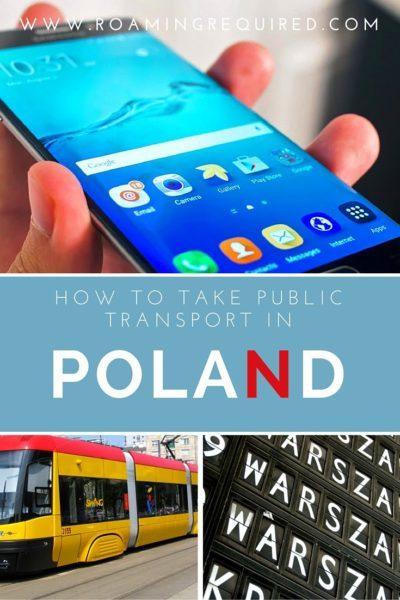 How to take Public Transport in Poland with Jakdojade