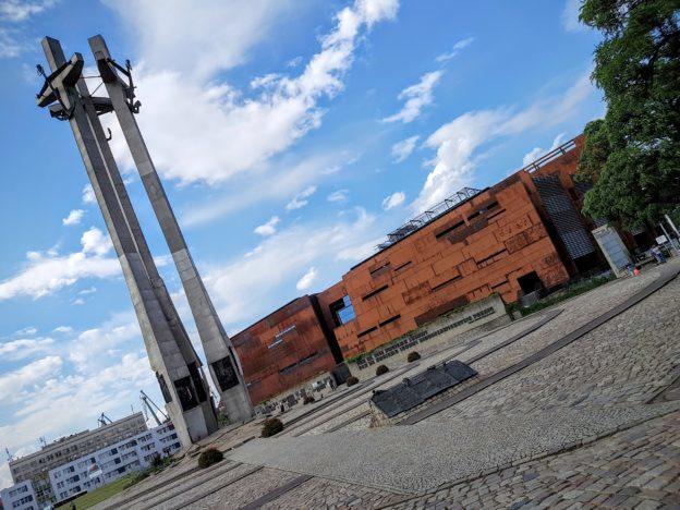 European Solidarity Centre & Three Crossses Monument