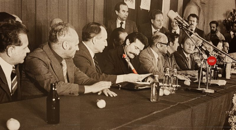 Signing the Gdansk Agreement