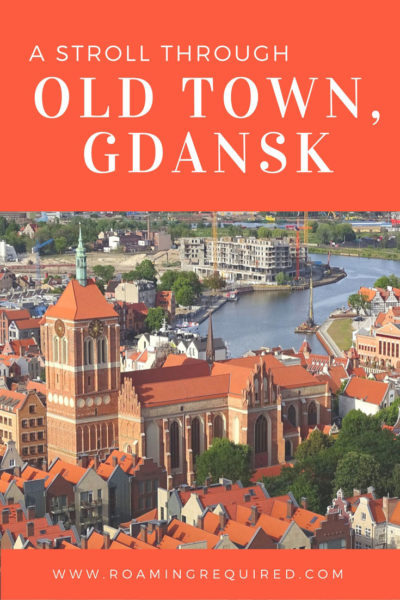 The quaint endearing Old Town of Gdansk in Poland.