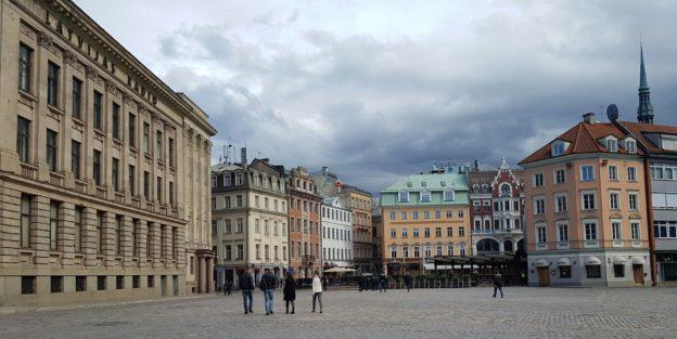 The Streets of Riga, Latvia