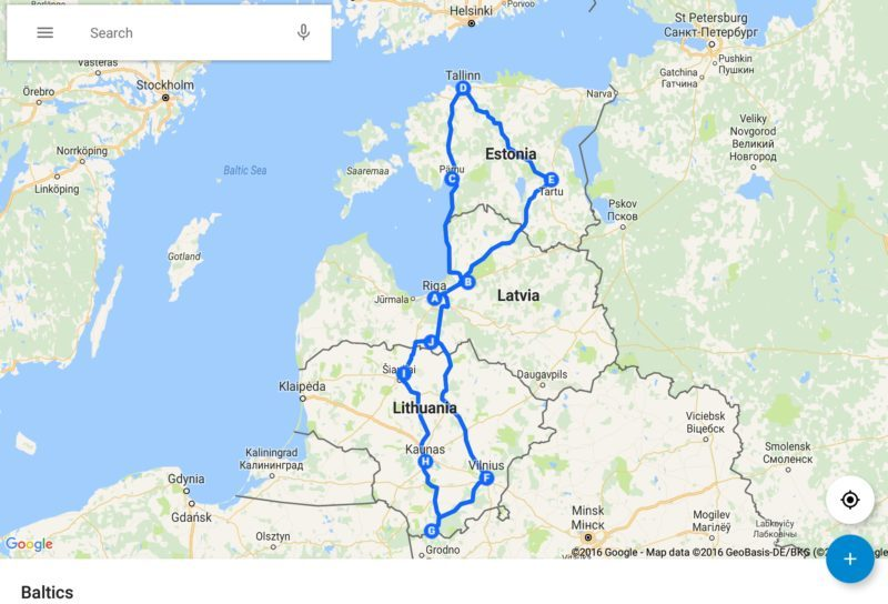 A Road Trip through the Baltics Days 13 Roaming Required