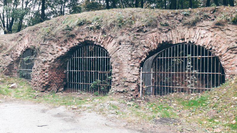Fort Winiary Tunnels, Park Citadel, Poznan