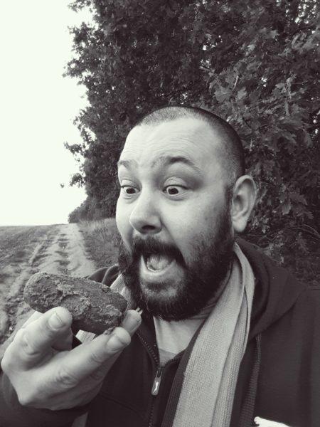 I found a meteorite at Morasko Meteorite Reserve