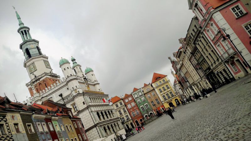 The Town Hall in the Old Town, Poznan