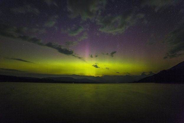 Aurora Borealis, Northern Lights over Iceland