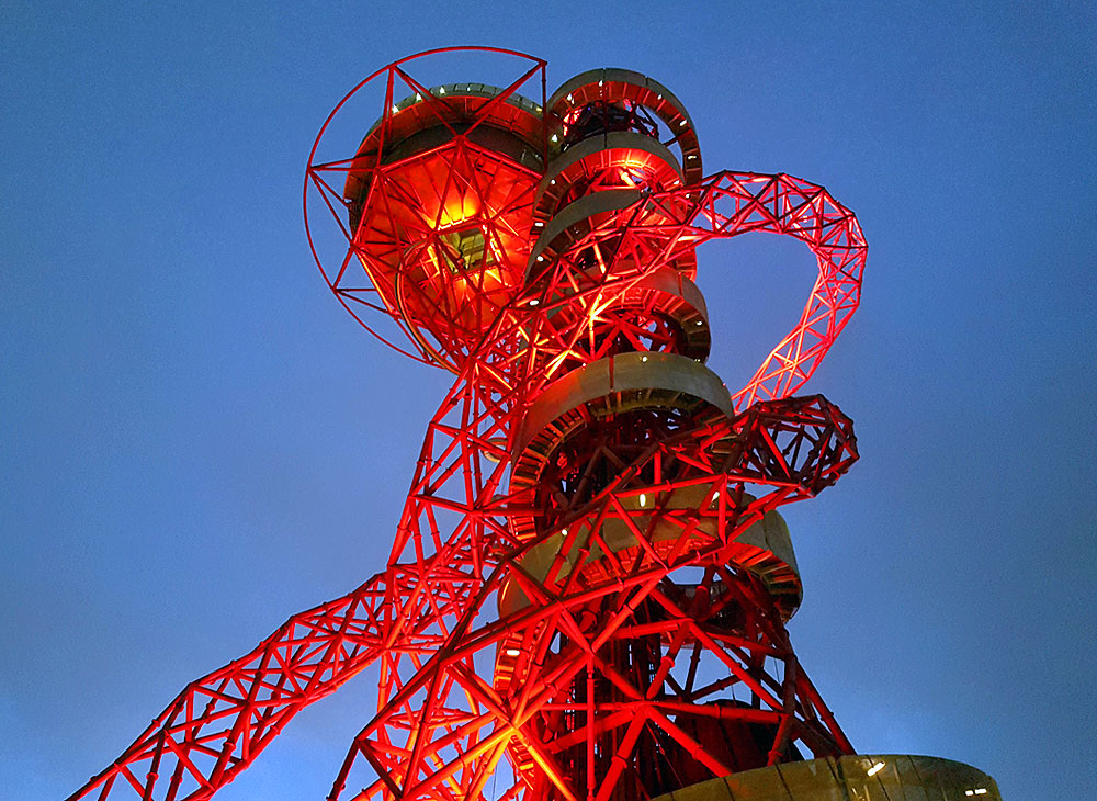 Ride the slide at ArcelorMittal Orbit