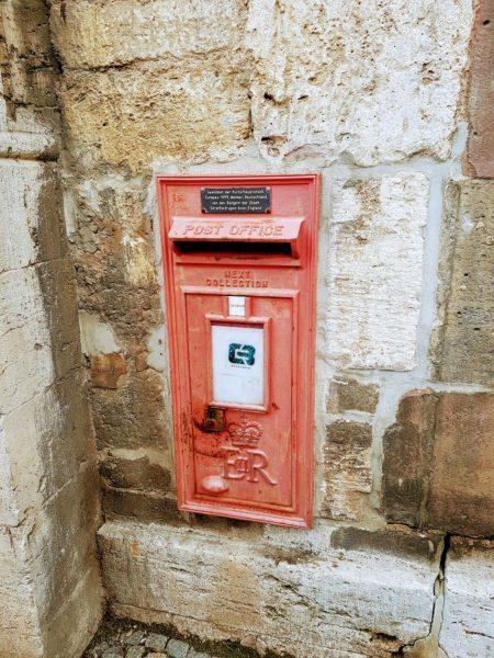 UK mailbox in Weimar Germany