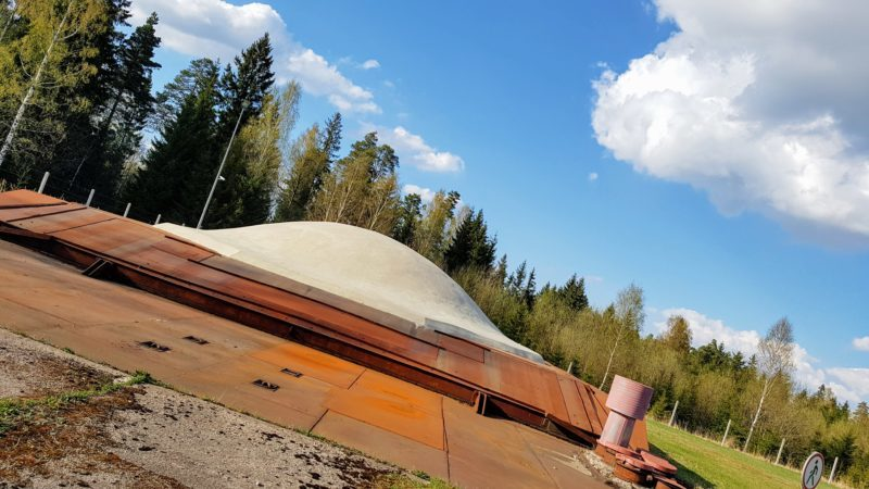 outer missile silo shell