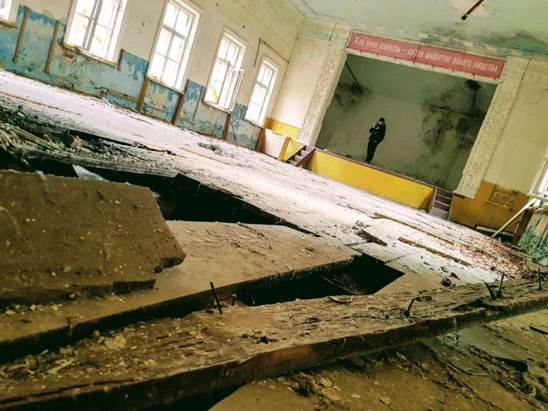 Abandoned Building Chernobyl