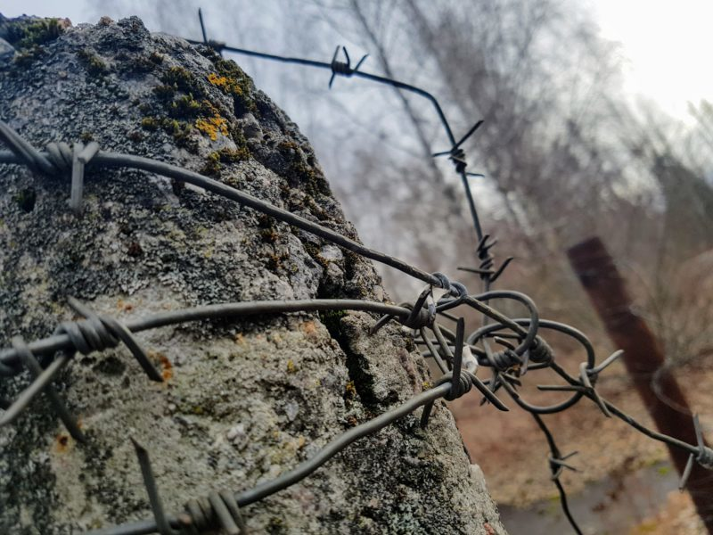 Chernobyl barbed wire