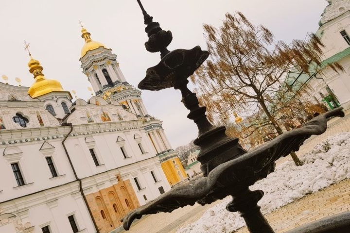 The grounds of the Kyiv Lavra