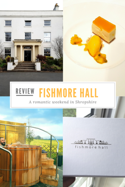 Like it? Pin it for later! A romantic weekend away at Fishmore Hall, Ludlow, Shropshire