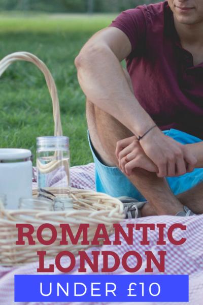romantic london under £10