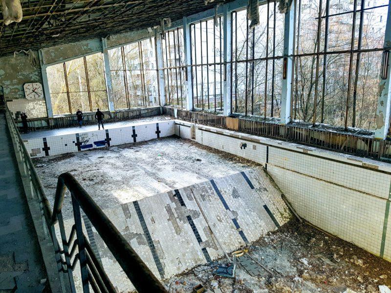 abandoned fitness centre, Pripyat