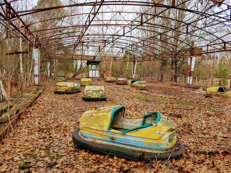 Bumper cars chernobyl