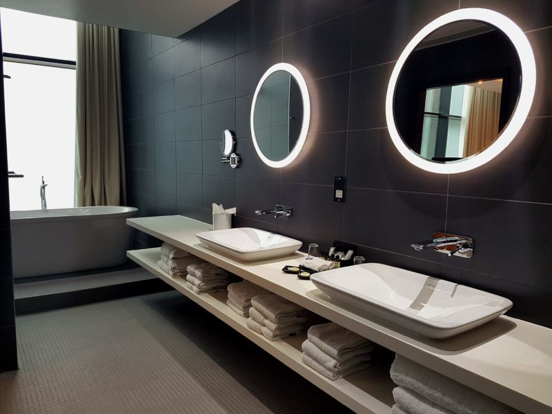 Ensuite in the Suite at Pullman Liverpool