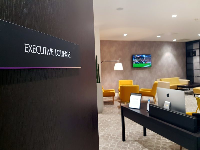 Executive Lounge at Pullman Liverpool
