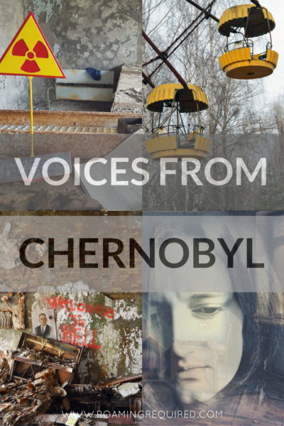 Voices from Chernobyl Pinterest