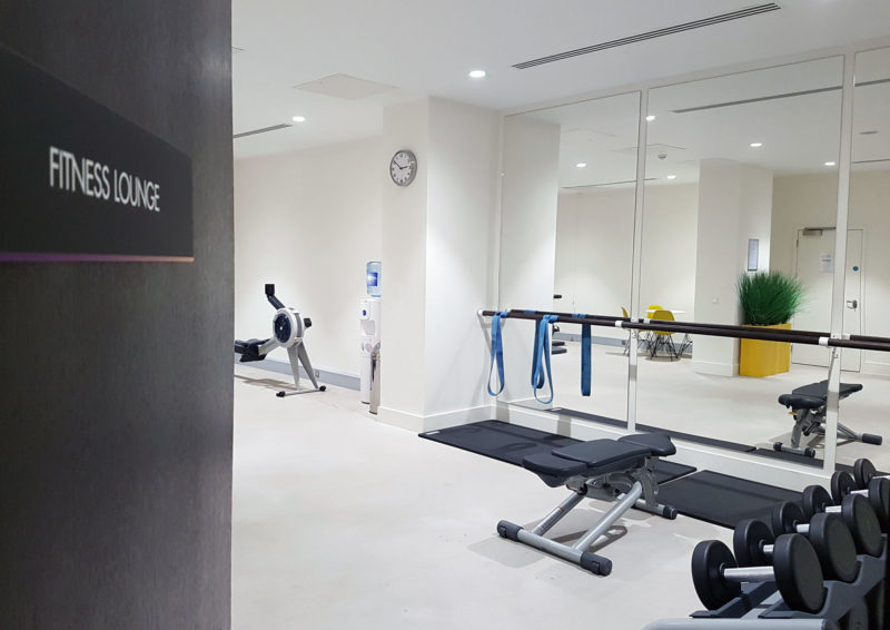 Fitness centre at Pullman Liverpool