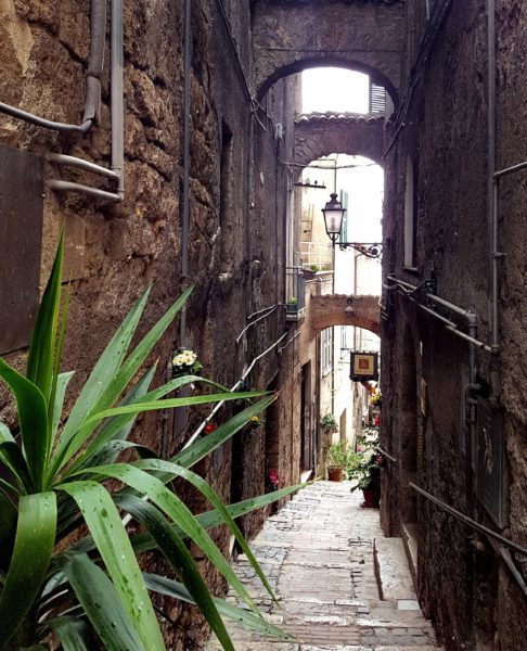 The streets of Anagni