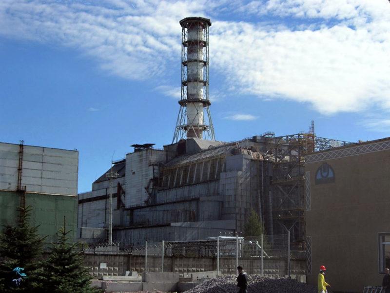 Chernobyl 1986 sarcophagus