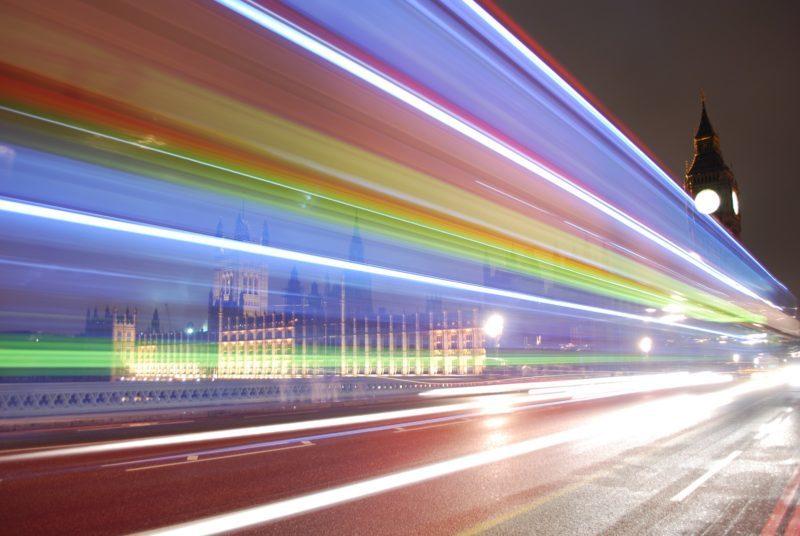 Westminster Bridge by night