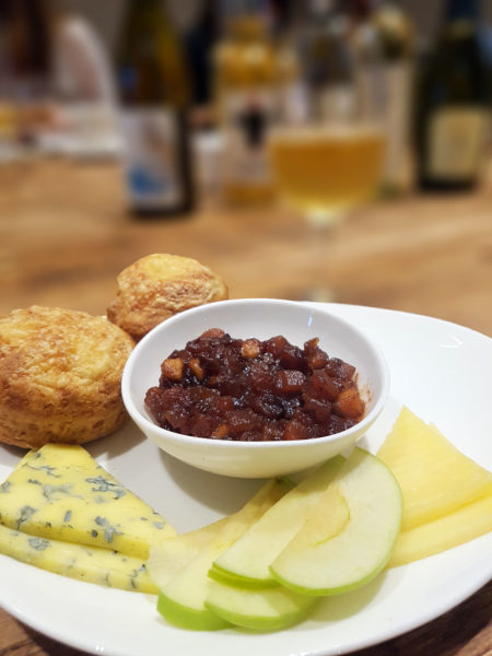 Baked plate of Pimlico Pantry's Cheese Afternoon Tea