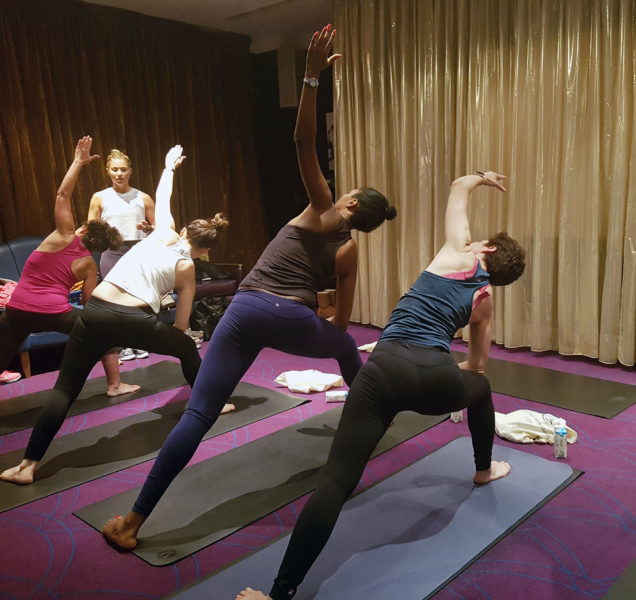Karma Sanctum Soho Yoga Brunch