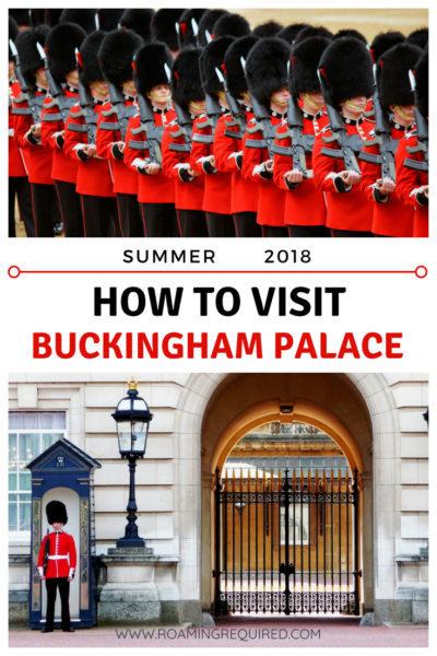 how to visit buckingham palace