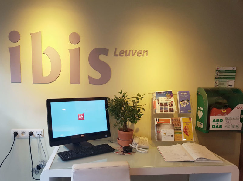 Reception ibis Leuven
