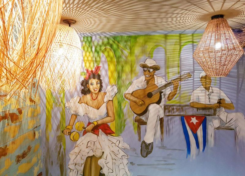 Little Havana London mural