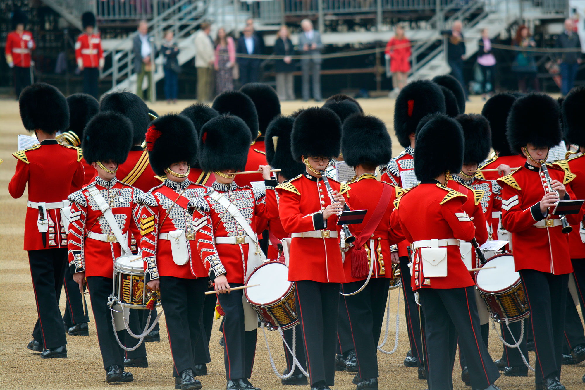 Trooping the Colour - What, Where, When? - Roaming Required